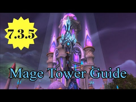 how to get to mage headquarters legion