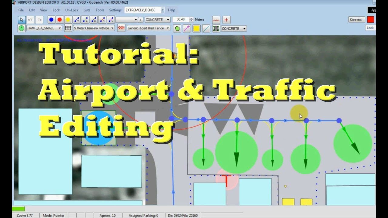 FSX Airport Editing and AI Traffic Modification- Tutorial