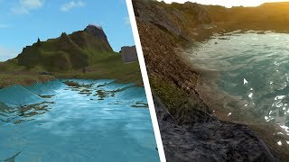How To Insert Smooth Terrain Water - Roblox Tutorial