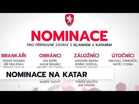 Nominace reprezentace před zápasy v Kataru