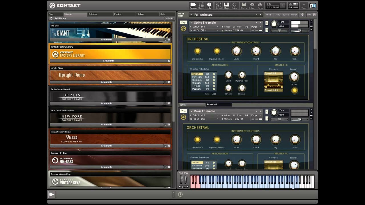 Image Result For Free Vst Kontakt Player