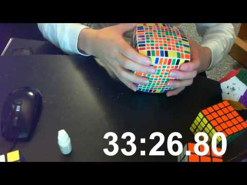 11x11x11 Rubik's Cube Solving (55m:19.47s)