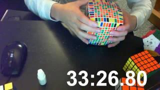 11x11x11 Rubik's Cube Solving (55m:19.47s) thumbnail