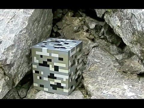 Lego Coal Ore Minecraft Youtube