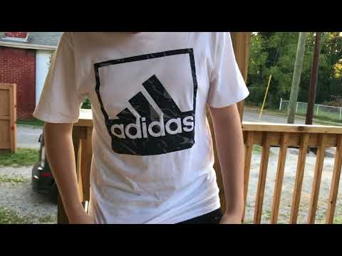 Boys Style and Clothing. How Walter wear Adidas clothes