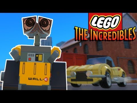 SECRET SYNDROME BOSS FIGHT AND LEGO WALL-E! (Lego The Incredibles Gameplay #22) |