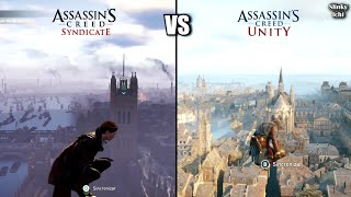 Assassin's Creed Syndicate vs Unity - Graphics gameplay comparison (Xbox One vs PS4)