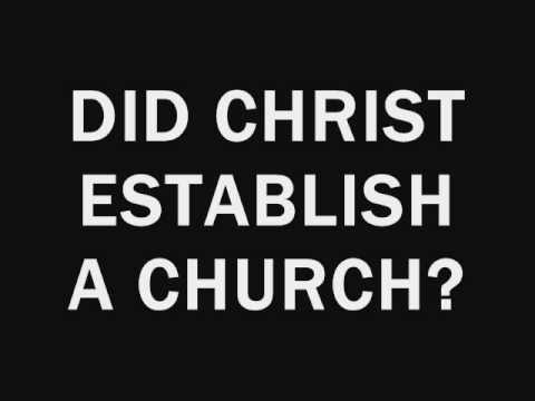 THE CHURCH THAT JESUS BUILT. Are you in?