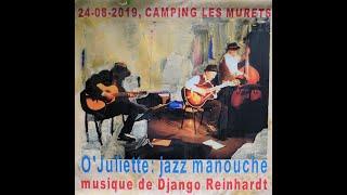 O'Juliette op Camping Les Murets, te Esneux in België, 24 augustus 2019