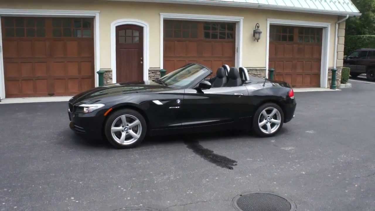 2012 Bmw Z4 2 8i Roadster For Sale Bi Turbo Black Black Beautiful Low Mileage Convertible Youtube