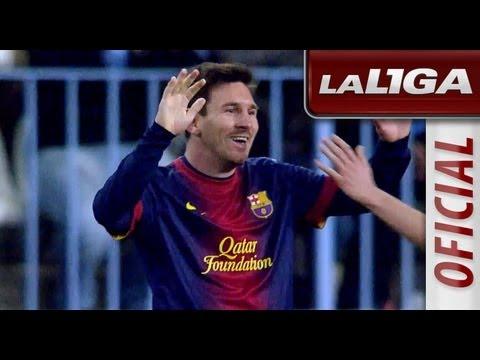 El juego táctico de Messi