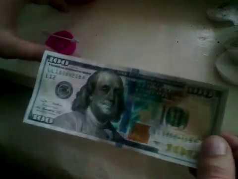 Как удалить ржавчину с долларовых купюр валюта чехословакии