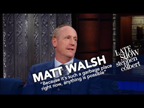 Thumbnail: Matt Walsh Compares The Dysfunction Of Washington In 'Veep' To Reality