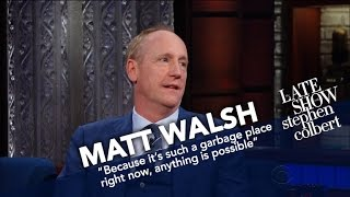 Matt Walsh Compares The Dysfunction Of Washington In 'Veep' To Reality thumbnail
