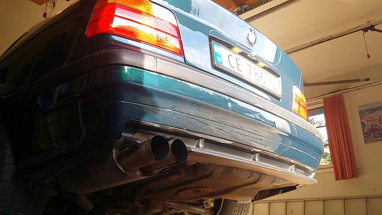 bmw e36 318is scorpion exhaust