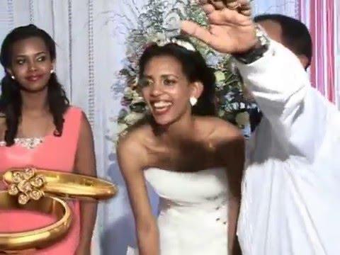 Ethiopian - Tigrinya cultural wedding dance (Ephrem & Meraf)