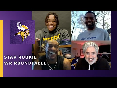 Justin Jefferson Sits Down With Randy Moss, Percy Harvin & Other Vikings Rookie of the Year Winners