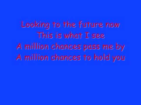 Take that a million love songs with lyrics