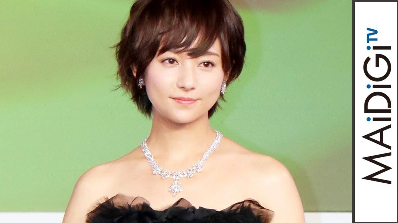 木村文乃、ばっさりショートヘア 肩出し黒ロングドレスで2億円ジュエリーをまとい\u2026 「第5回ウーマン オブ ザ イヤー」授賞式