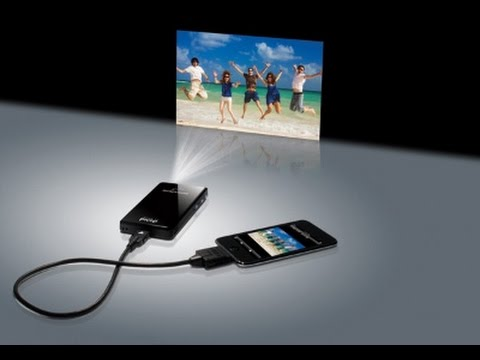How To Turn A Smartphone Into A Projector In 5 Minutes!!