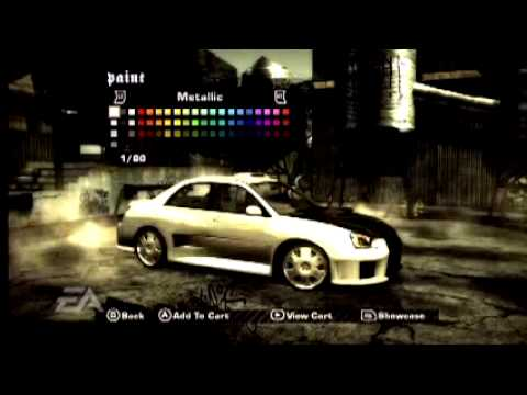 Cars In Nfs Most Wanted