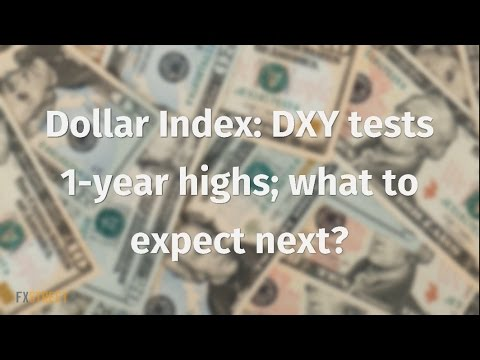 Dollar Index: DXY tests 1-year highs; what to expect next?