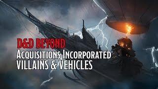Villains & Vehicles of D&D