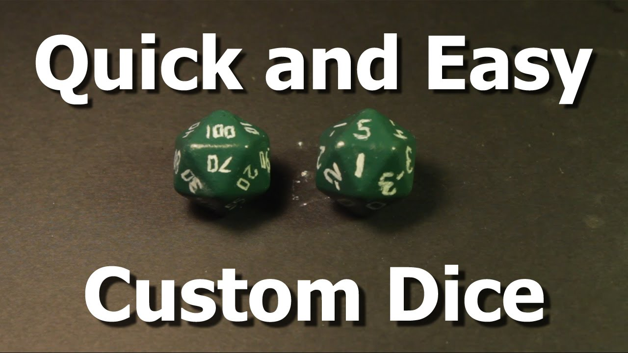 Ready Ward - Easy Custom Dice - YouTube