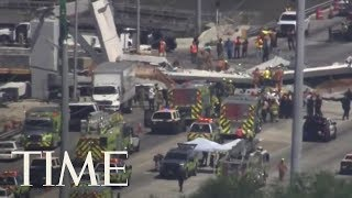 Mass Casualties After 950-Ton Pedestrian Bridge Collapses At Florida International University | TIME