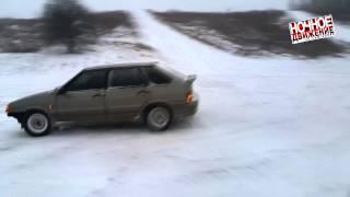 Ночное Движение - Дрифтуем по снегу на 2114