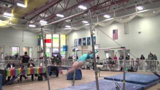 Cali Harden, Gym America | L10 Bars 2016 Michigan State Meet