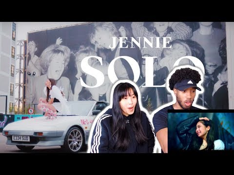 BLASIAN COUPLE REACTS TO JENNIE - SOLO | MUSIC VIDEO REACTION