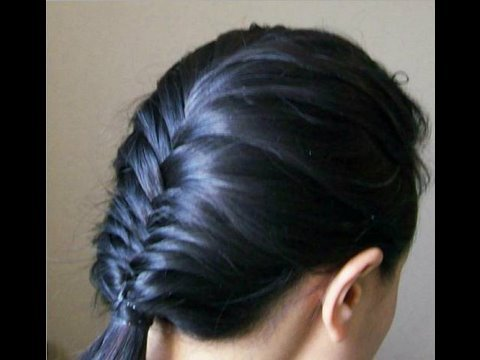 french plat hair style fishtail braid 6878 | hqdefault