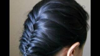 French fishtail braid thumbnail