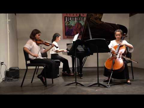 Kei Leigh Miya Emerson  2017 Luzerne Tchaikovsky Trio