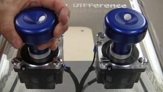 AMCSTI - NeverStall Stepper Motor Controller vs Standard Driver/Controller