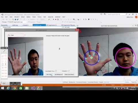 Real Time Hand Gesture Recognition using OpenCV - YouTube