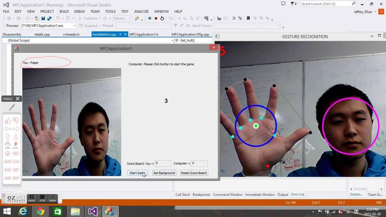 Real Time Hand Gesture Recognition using OpenCV