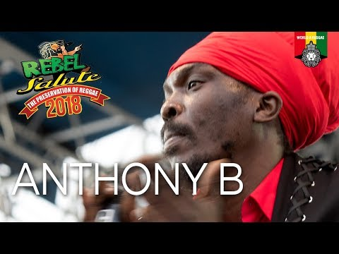 Anthony B Live at Rebel Salute 2018