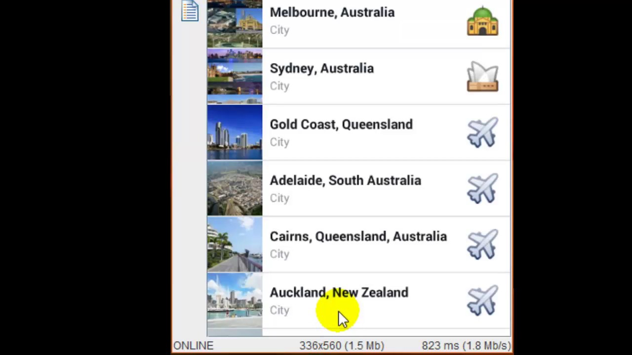 How to post travelling status in Facebook Android app