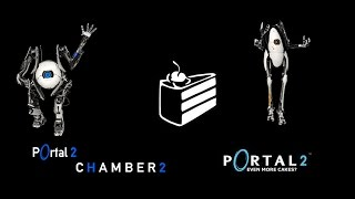 Portal 2 Co-Op Campaign WNex And Hermes - Chamber 2