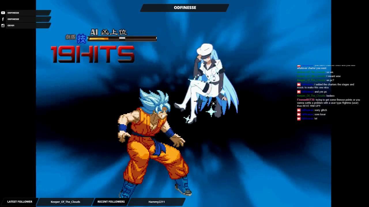 Akame vs SSGSS Goku M U G E N by Od Finesse
