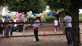 La course de garçons de café à Avallon(89).