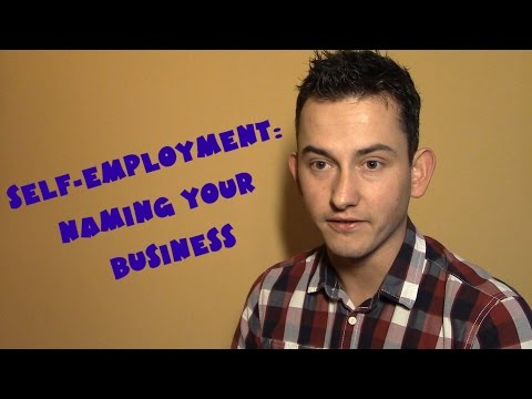 United Kingdom #11 - Self-employment: Naming your business (NAPISY PL)