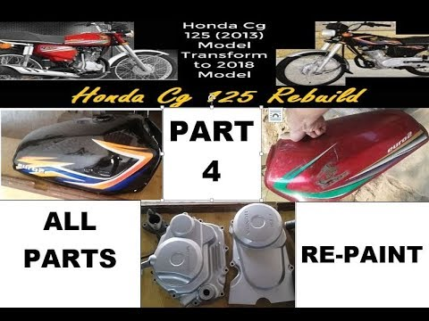 Honda CG125 || All Part Re-Paint || Part4