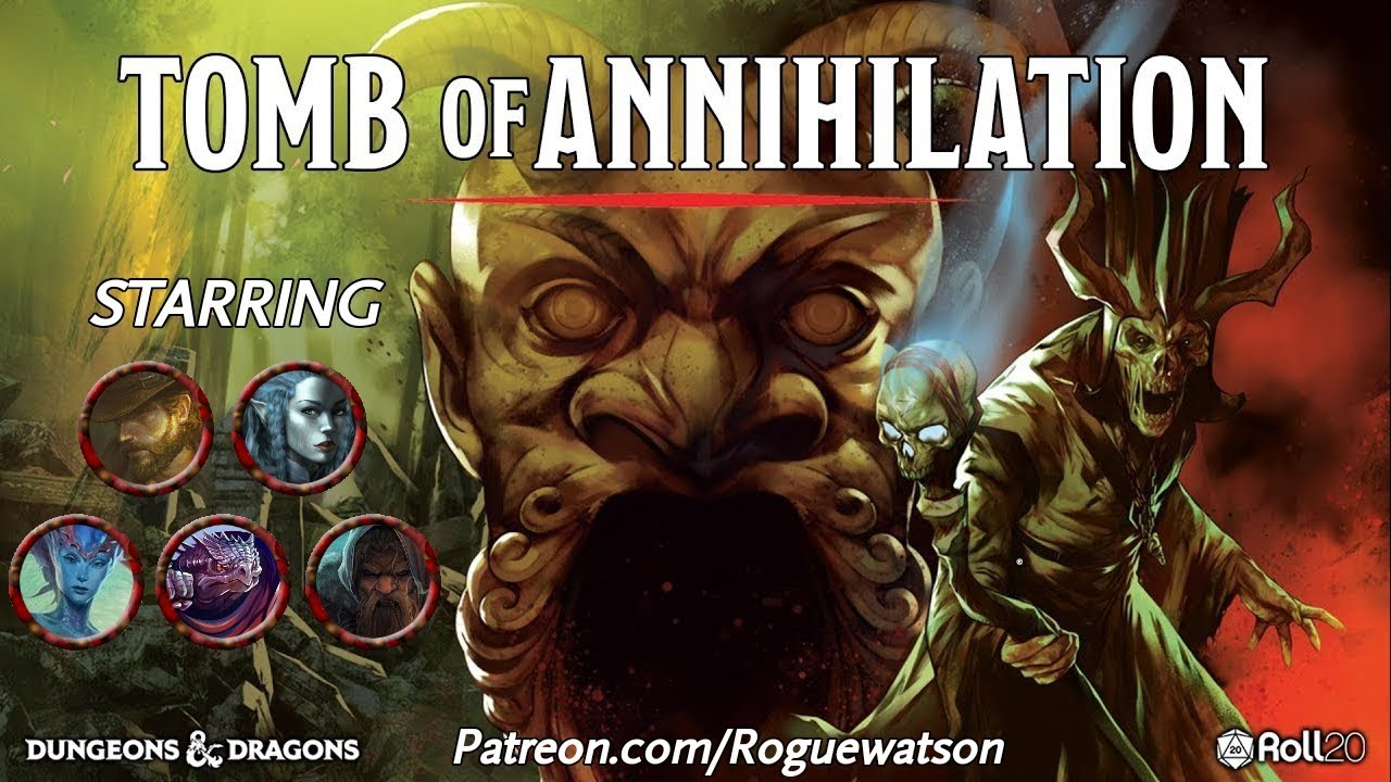 Tomb of Annihilation Session 33 Recap – Eric Watson