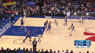Justin Patton Sixers Debut 3/6/19