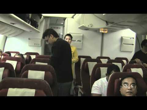 Jet Airways flight from Heathrow to Delhi International Airport
