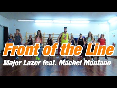 Front of the Line - Major Lazer feat  Machel Montano  |2GetherWeDance| Zumba®Toning