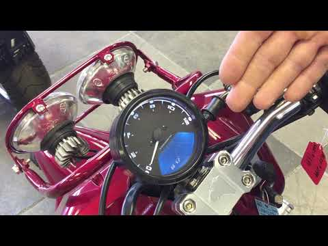 How To Calibrate Your Digital Speedometer Ice Bear Mad Dog Scooter